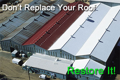 Restore - don't replace your roof!